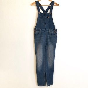 Jordache Denim Overalls with a Criss Cross Back